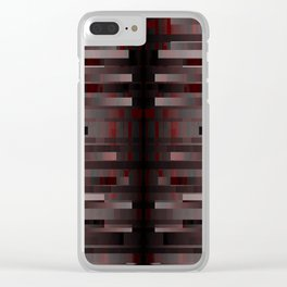 toxic. red. 2018 Clear iPhone Case