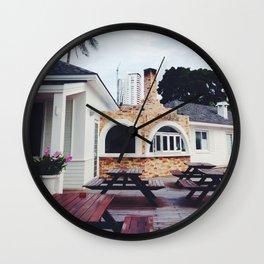 Pizzeria Beach Wall Clock