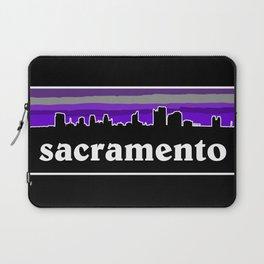 Sacramento Cityscape Laptop Sleeve