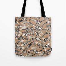 shark party biscuit Tote Bag