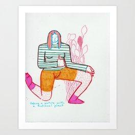 FICTIONAL PLNT, Art Print