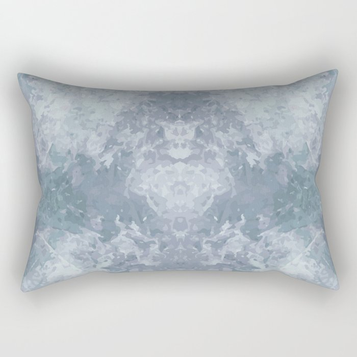 Pale Moth Rectangular Pillow