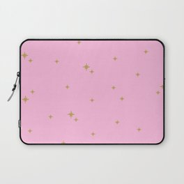 Pink Starburst Pattern Laptop Sleeve