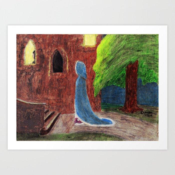 Cinderella's Arrival Art Print