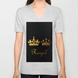 Royal King & Queen Unisex V-Neck