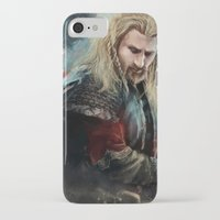 fili iPhone & iPod Cases featuring Fili Heir of Durin by Alba Palacio
