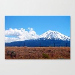 Volcano Canvas Print