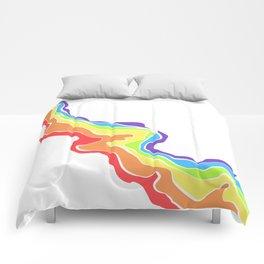 Rainbow Stripe 13 Comforters