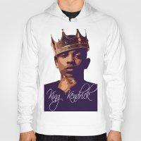 kendrick lamar Hoodies featuring King Kendrick by GerritakaJey