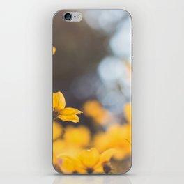 Dreaming in yellow iPhone Skin
