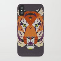 fierce iPhone & iPod Cases featuring Fierce by Nayla Smith