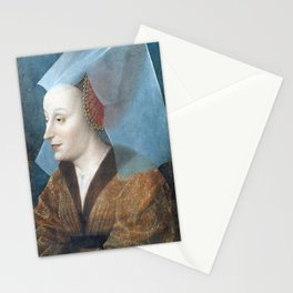 Portrait of a Noblewoman, Probably Isabella of Portugal Stationery Cards