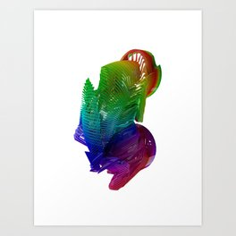 Slinky Art Print