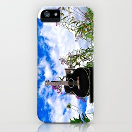 Playing the Field iPhone Case