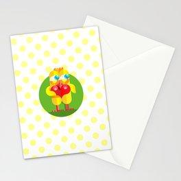 Love chicken Stationery Cards
