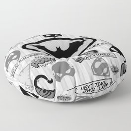 Super Hero Floor Pillow