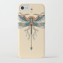 Dragonfly Tattoo iPhone Case