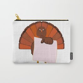 Turkey Notice Board Carry-All Pouch