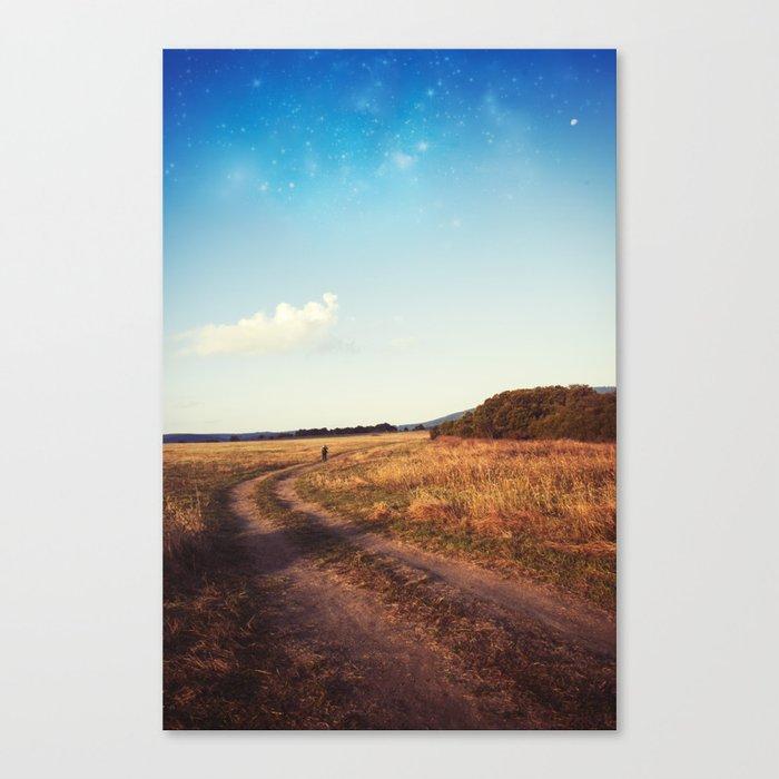 Long way home Canvas Print