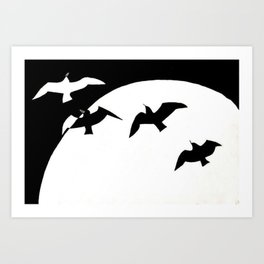 Birds of Symmetry Art Print