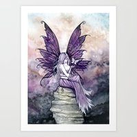 Letting Go Fairy Fantasy Art Art Print