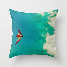 Kite-tastic Throw Pillow