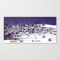 the strokes Canvas Prints featuring strokes... by matzenbacher