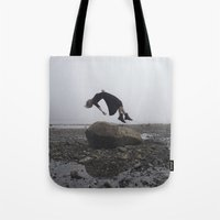 witchoria Tote Bags featuring Sacrificial  by witchoria