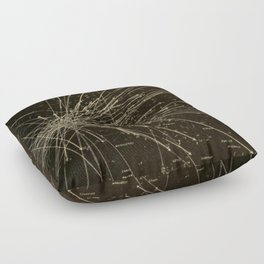 Meteor Shower Floor Pillow