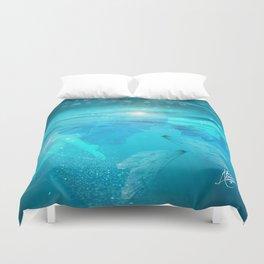 Water Dance Duvet Cover