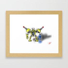 P1K4-C4U Framed Art Print