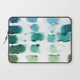On the Beach Watercolor Painting Abstraction Laptop Sleeve
