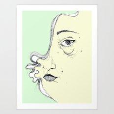 Hidden  Art Print