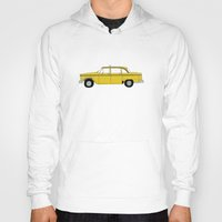 taxi driver Hoodies featuring Taxi Driver - Taxi by V.L4B