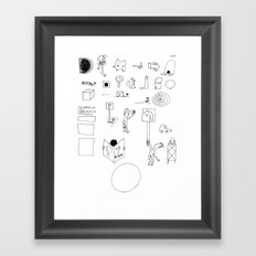 Paradigm Process Framed Art Print