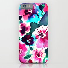 Zoe Floral Pink Slim Case iPhone 6s