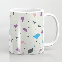 Muted Pastel Home Decor Texture - Faded Terrazzo Marble Granite Pattern - Abstract Geometric Speckles  Coffee Mug