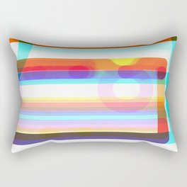 Re-Created Intersection I by Robert S. Lee Rectangular Pillow