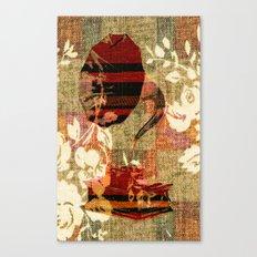 Dueling Phonographs VII Canvas Print