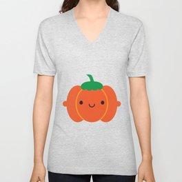 Happy Halloween Pumpkin Unisex V-Neck