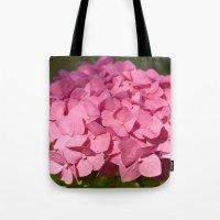 hydrangea Tote Bags featuring Hydrangea by Susann Mielke