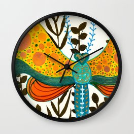 Polkafly Wall Clock