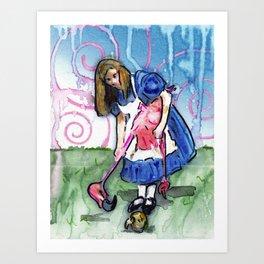 Alice II Art Print