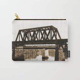 Bridge over the Merrimack River Carry-All Pouch