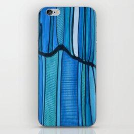 2 Blue iPhone Skin