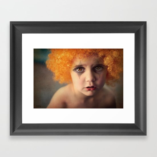 Things will look better tomorrow.  Framed Art Print