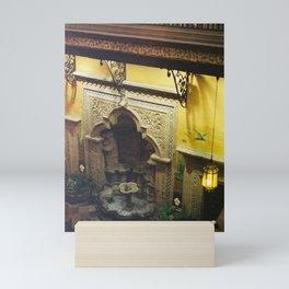 Courtyard Fountain in Historic CDMX 35mm Mini Art Print