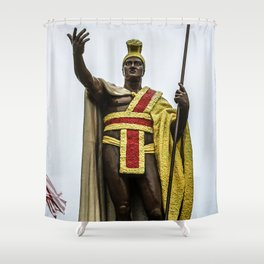 King Kamehameha Shower Curtain