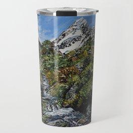 Mt Cook, New Zealand Travel Mug