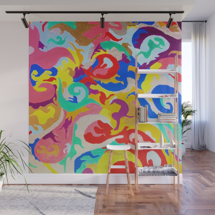 Filtered Swirl 1 Wall Mural